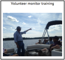 Volunteer monitor training